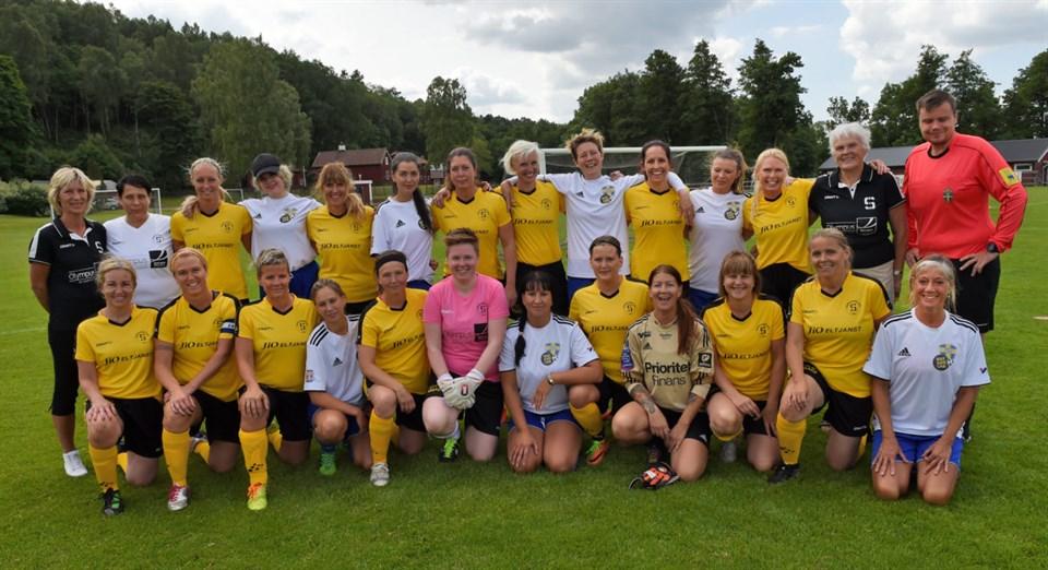 Dam legends och Gatans lag Göteborg
