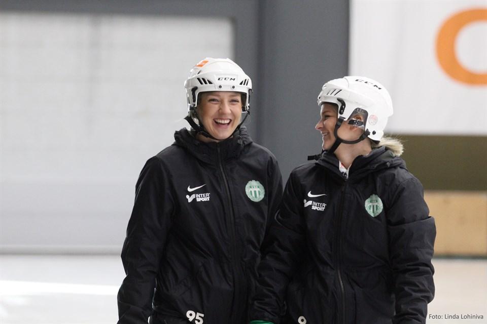Sara Carlström och Lovisa Odén
