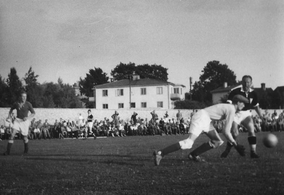 IF Gute - Råsunda IF 5 Augusti 1951 på Gutavallen