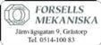 Forsells Mekaniska