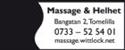 Massage & Helhet