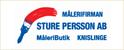 Persson AB, Målerifirman Sture
