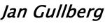 Jan Gullberg