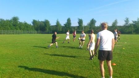 Rugbyträning 110608