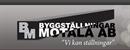 BYGGSTÄLLNINGAR I MOTALA AB