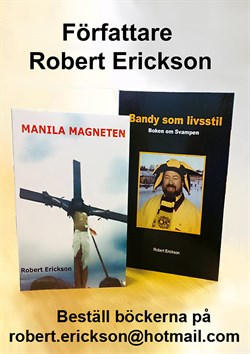 Författare Robert Erickson