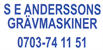 SE Andersson Grävmaskiner