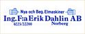 Ing. F:a Erik DAhlin AB