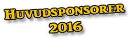Huvudsponsorer 2016