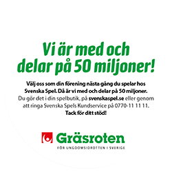 Gräsroten - Svenska Spel 2016