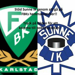 Stöd Sunne IK genom att gå på FBKs hemmamatcher!