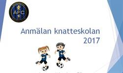 Anmälan knattefotbollen 2017