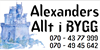 Alexanders Bygg