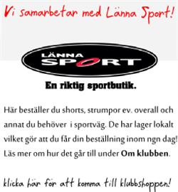 Beställa från Länna Sport