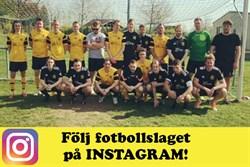 Fotbollslaget Instagram
