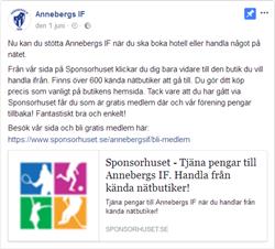 Sponsorhuset fb text