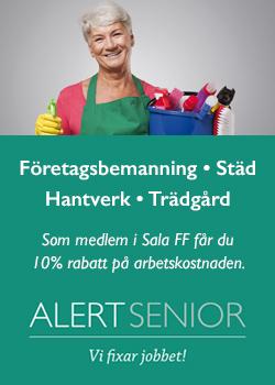 Alert senior