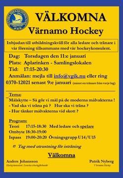 Hockeykonsulenten torsdagen 11 januari