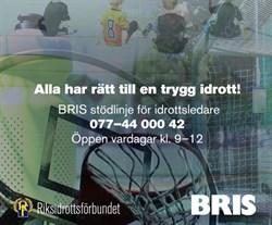 BRIS stödlinje för idrottsledare