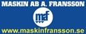 Maskin AB, A. Fransson