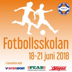 Fotbollsskola 2018