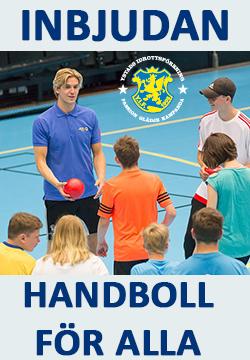 Handboll För Alla - inbjudan