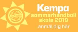 Kempa Sommarhandbollskola 2019!