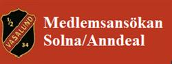 Medlemsansökan Solna
