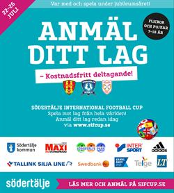 Södertälje International Football Cup 2019