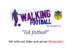 Walking fotboll
