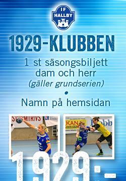 1929-KLUBBEN/Årskort