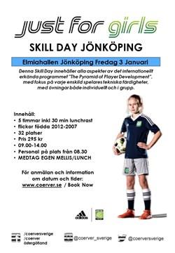 Coerver Coaching Just for girls