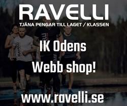 Ravelli stödjer IK Oden