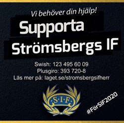 Supporta Strömsbergs IF