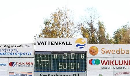 IFK Kalix-Luleå FF 26 Sep 2015